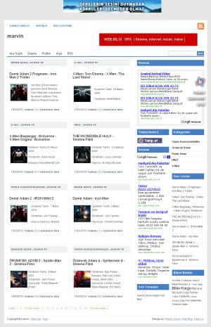 Blogcuya uyarlanmış Channel Magazine şablonu (theme -  teması)