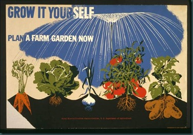 victory garden poster H