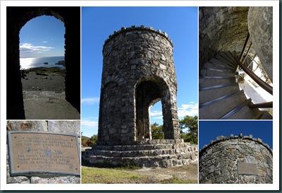battie tower collage
