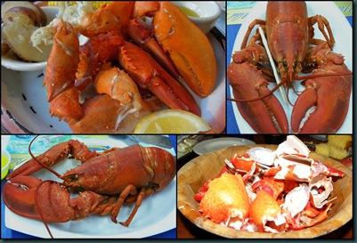 lobstah collage