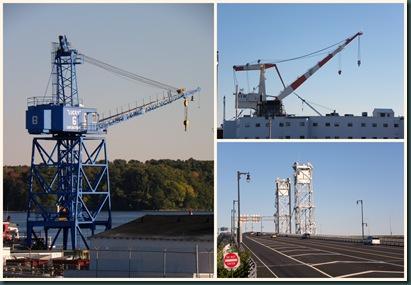 BIW crane collage