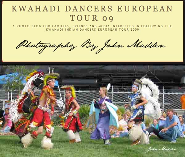 Kwahadi Dancers European Tour 2009