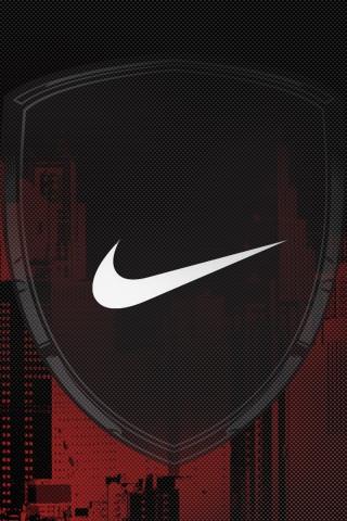 wallpaper nike logo. Nike Logo Design iPhone