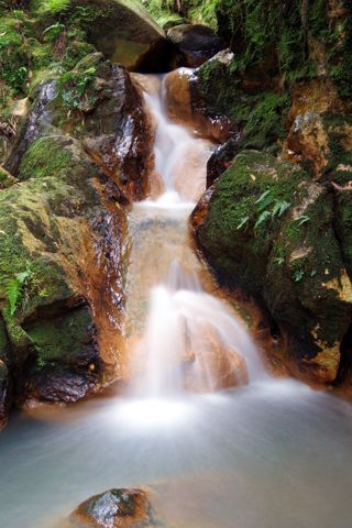 Beautiful Desktop Waterfall Wallpaper For iPhone