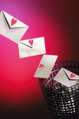 Love Letters Picture iPhone Wallpaper