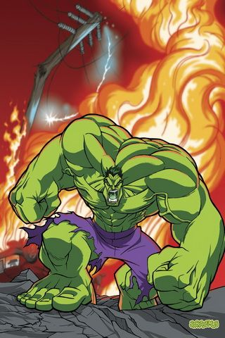 Hulk Am Mad Picture Graphic iPhone Wallpaper