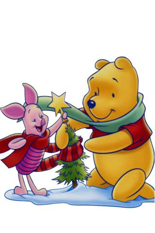 Winnie The Pooh and Friends Picture iPhone Wallpaper