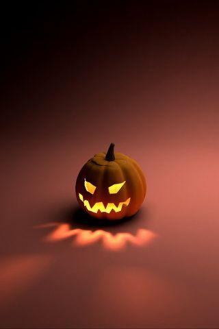Pumpkin Carving Design iPhone Wallpaper