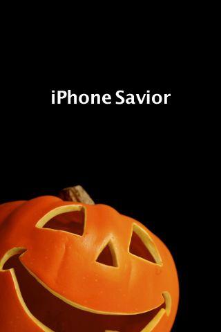 Cute Pumpkin Savior iPhone Wallpaper