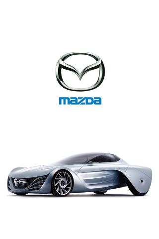 iPhone Wallpaper Mazda Taiki Concept Car Picture