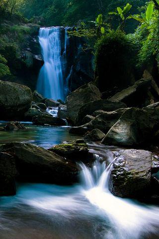 Beautiful Waterfall Picture iPhone Wallpaper