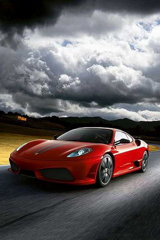 Reiki Ferrari Car iPhone Wallpaper