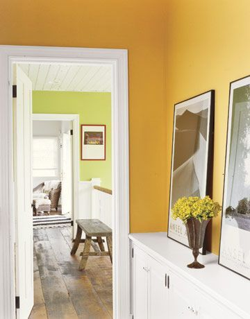 Colored Accents Room Decoration