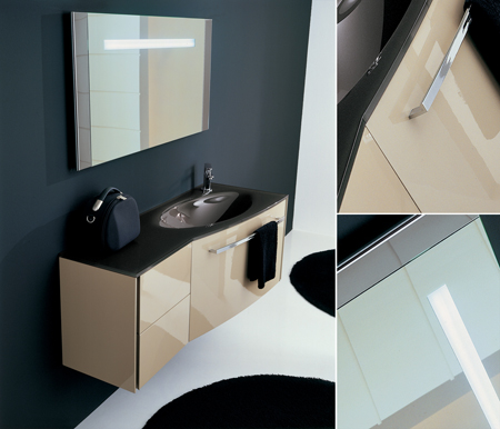 Contemporary Bathroom Furniture from Living House