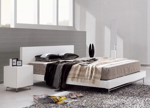 Barcelona Contemporary Double Bed Design | Cimots