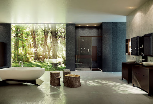 Excellent Nature Bathroom Design Ideas