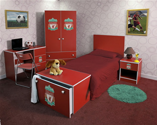 Liverpool FC Bed Set Design for Bedroom from Branded Bedrooms