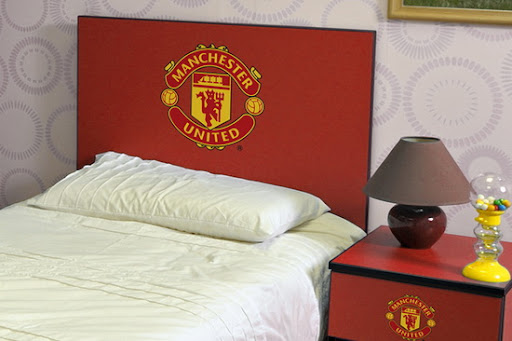 Manchester United Bed Set for Bedroom Design from Branded Bedrooms