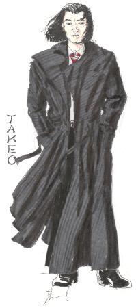 Takeo, drawn by Damian Lund