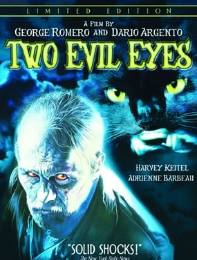 Two Evil Eyes DVD cover