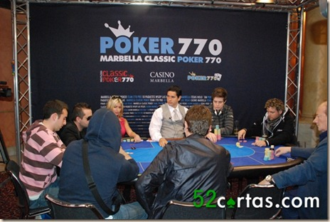 TV-Table - Marbella Classic Poker 770