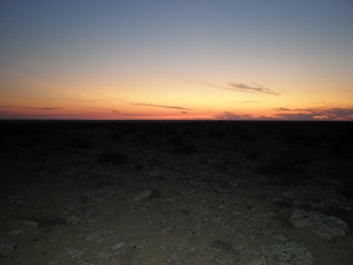 Заря в  каньоне  Султан-эпесай