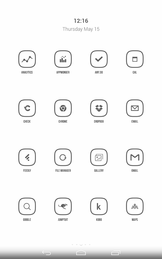 Inverse Icon Pack Screenshot 3