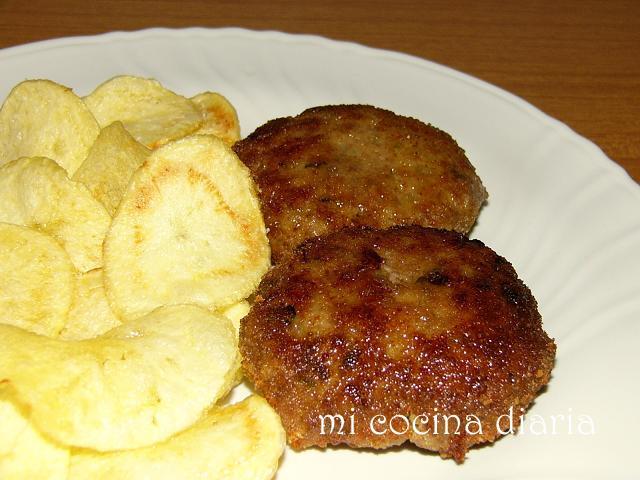 Patatas chips (Картофельные чипсы)