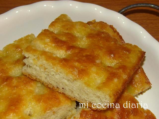 Focaccia Genovese con patatas (Генуэзская фокачча с картофелем)