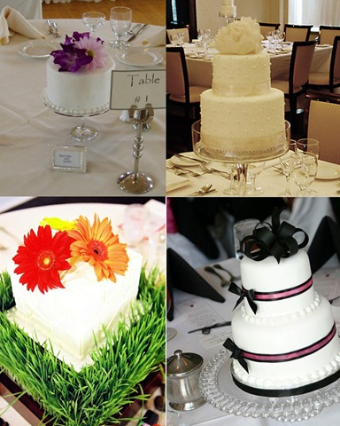 Centerpiece cakes are a great conversation starter and are an alternative to