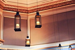 wedding hanging lanterns