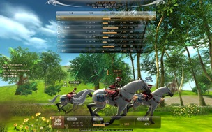 Alicia Online / Project Alice horse racing game