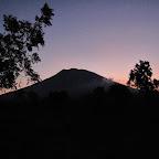 夕方のアグン山、トランベン撮影