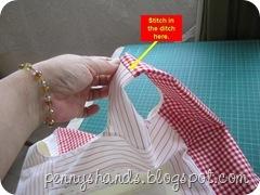 stitch ditch handle