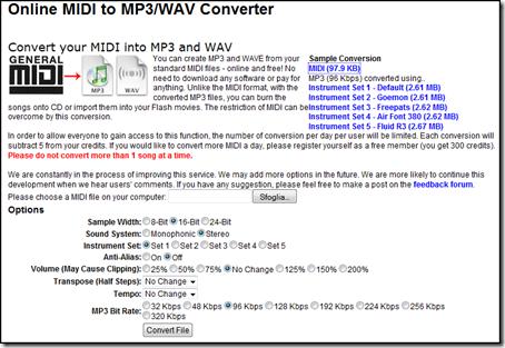 wav a mp3 gratuito:
