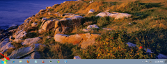 vista taskbar in Win7