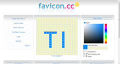 Create Favicons Easily Online with Favicon.ico Generator