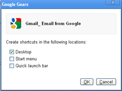 Creating shortcut to website using Google Chrome