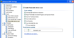 enable removable device scan_avg