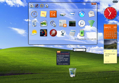 Thoosje Windows 7 Sidebar for XP and Vista