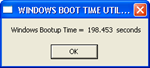 Windows Bootup Time