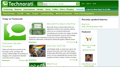 New Technorati_beta_homepage