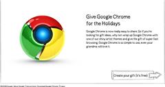 Google Chrome for holiday season