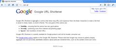 goo.gl URL shortener extension for Chrome
