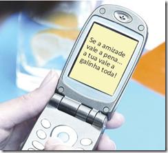 mensagem sms