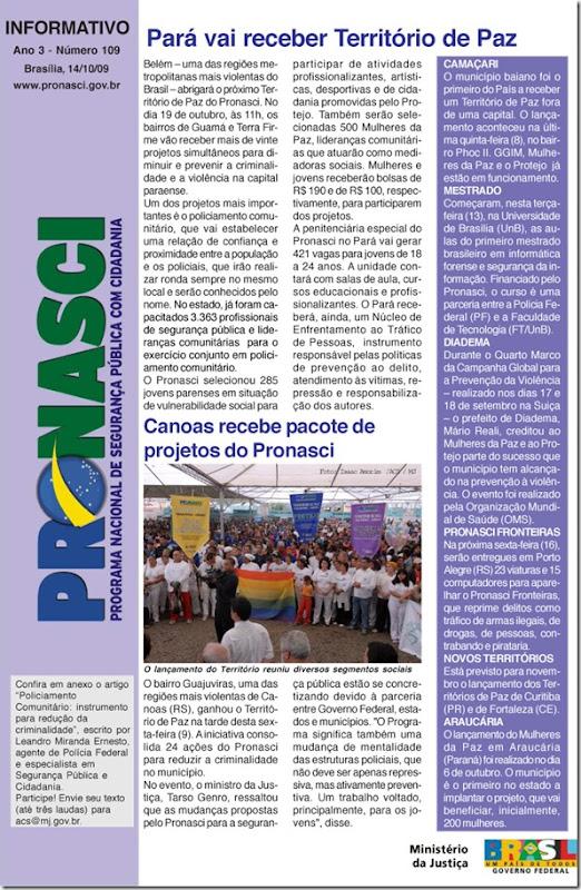 informativo_pronasci_15_10_09