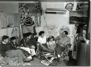 The Miyatake Family, Ansel Adams