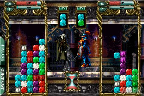 33022-castlevania-puzzle-encore-of-the-night Castlevania para iPhone é bem diferente do esperado
