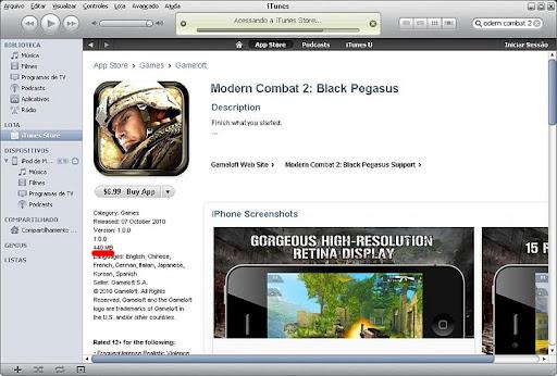 imagem2 Review Gamer: iPod Touch 4G