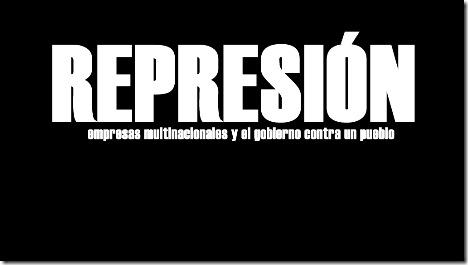 Represion en Catamarca